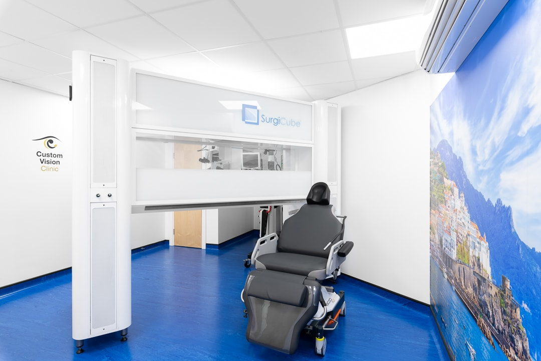 Custom Vision Clinic reception